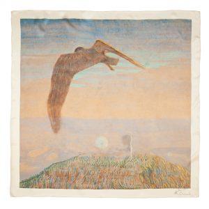 "Silk bandana - ""FAIRY TALE"" | Avenueart.lt"