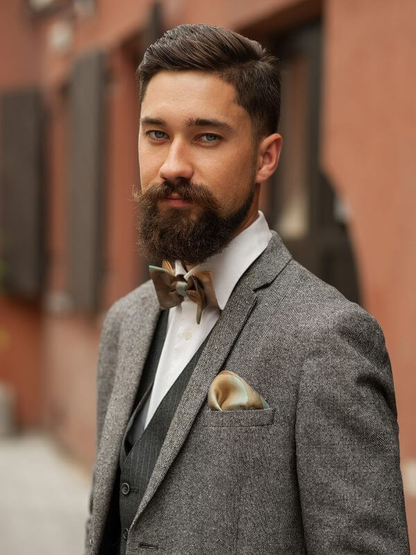 "Bow tie and pocket square - ""FAIRY TALE"""