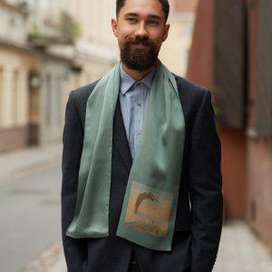 "Silk scarf - ""FAIRY TALE"" | Avenueart.lt"