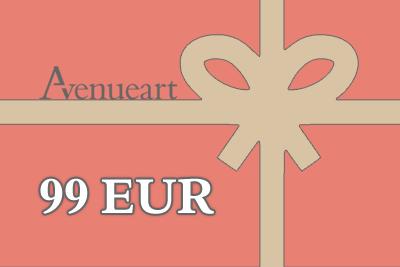 Dovanu kuponas 99 EUR | AVENUEART.LT