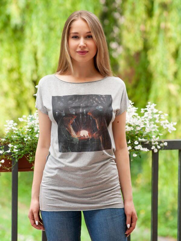 """Marškinėliai - """"Karalių pasaka""""   Avenueart.lt"""